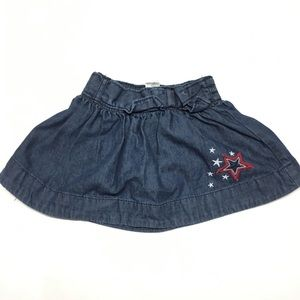 Baby Girl Denim Skirt sz 18 m